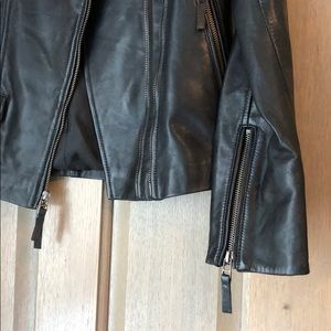 Gerard Darel Jackets & Coats - Gerard Darel Leather Jacket